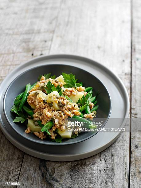 Bowl of chicken and vegetables