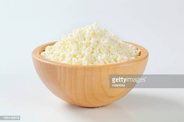 Bowl of cottage cheese