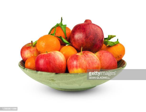 bowl of fruit - bowl stock pictures, royalty-free photos & images