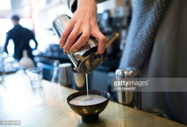 A bowl of Kava is prepared at Brooklyn Kava January 18 2018 in New York It's been a mainstay in the South Pacific for thousands of years Now...