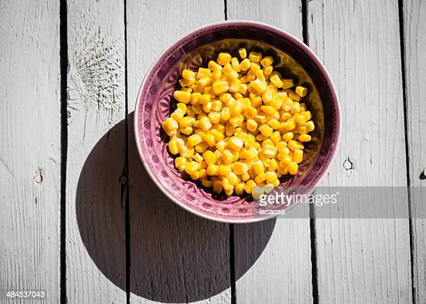 Bowl of maize corn