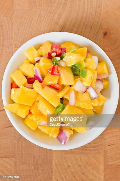 Bowl Of Mango Salsa