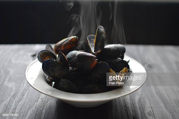 Bowl of muscles.