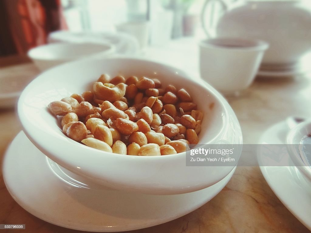 Bowl Of Nuts : Foto stock