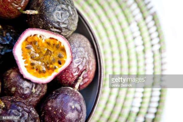 Bowl of passionfruit
