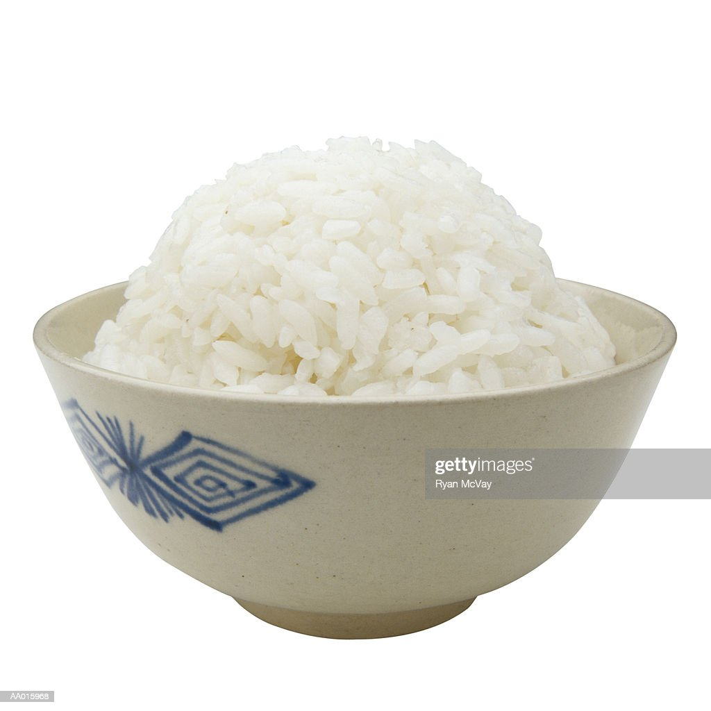 Bowl of Rice : Stock Photo