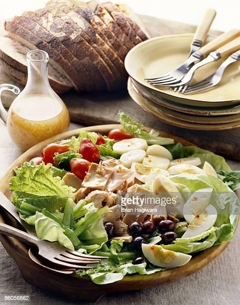 Bowl of salad nicoise