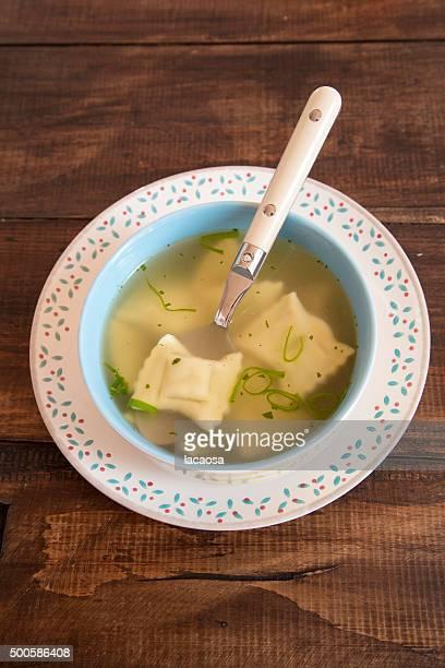bowl of Swabian dumplings