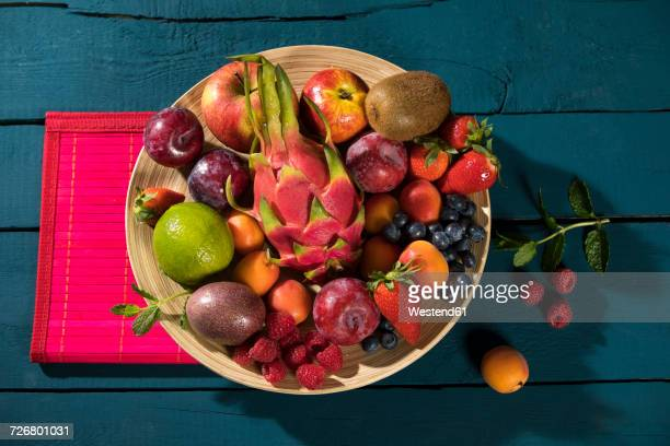 Bowl of various fruits