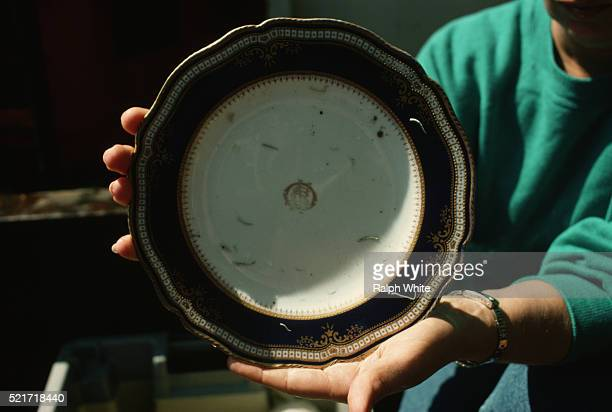 Bowl Recovered from Titanic
