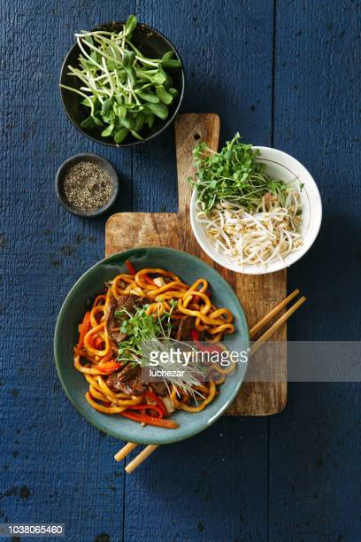 Bowl with chow mein