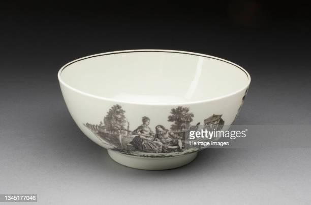Bowl, Worcester, circa 1785. Artist Royal Worcester.