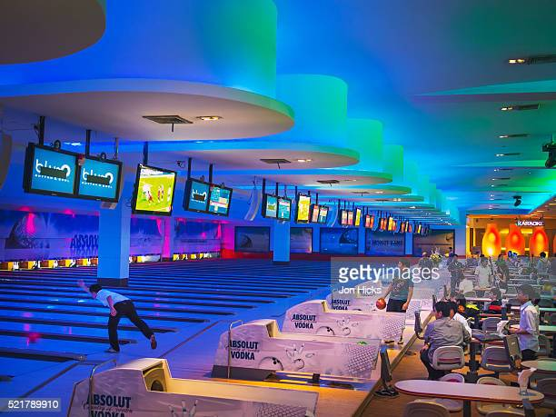 A bowling alley in Siam Paragon shopping mall