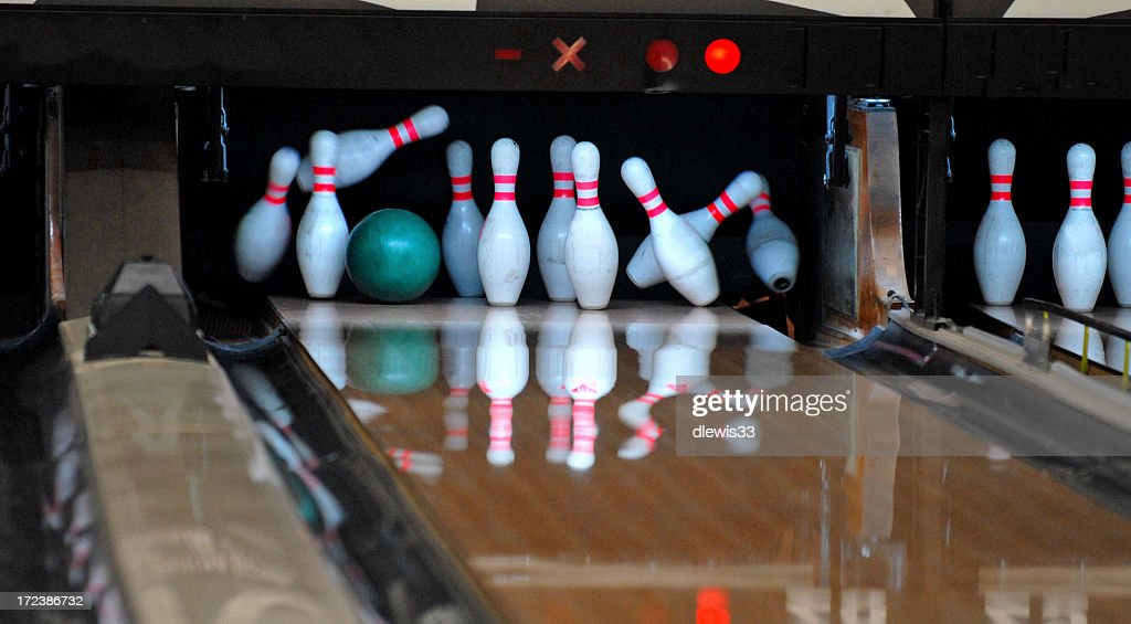 Bowling Alley : Stock-Foto