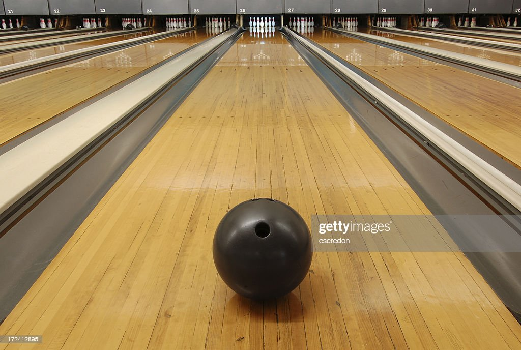 bowling alley : Stock Photo