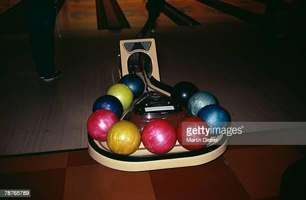 Bowling balls on
