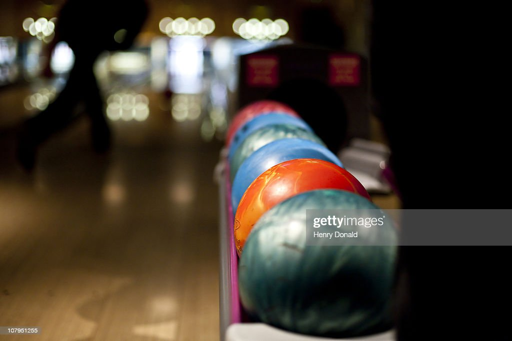 Bowling balls : Stock Photo