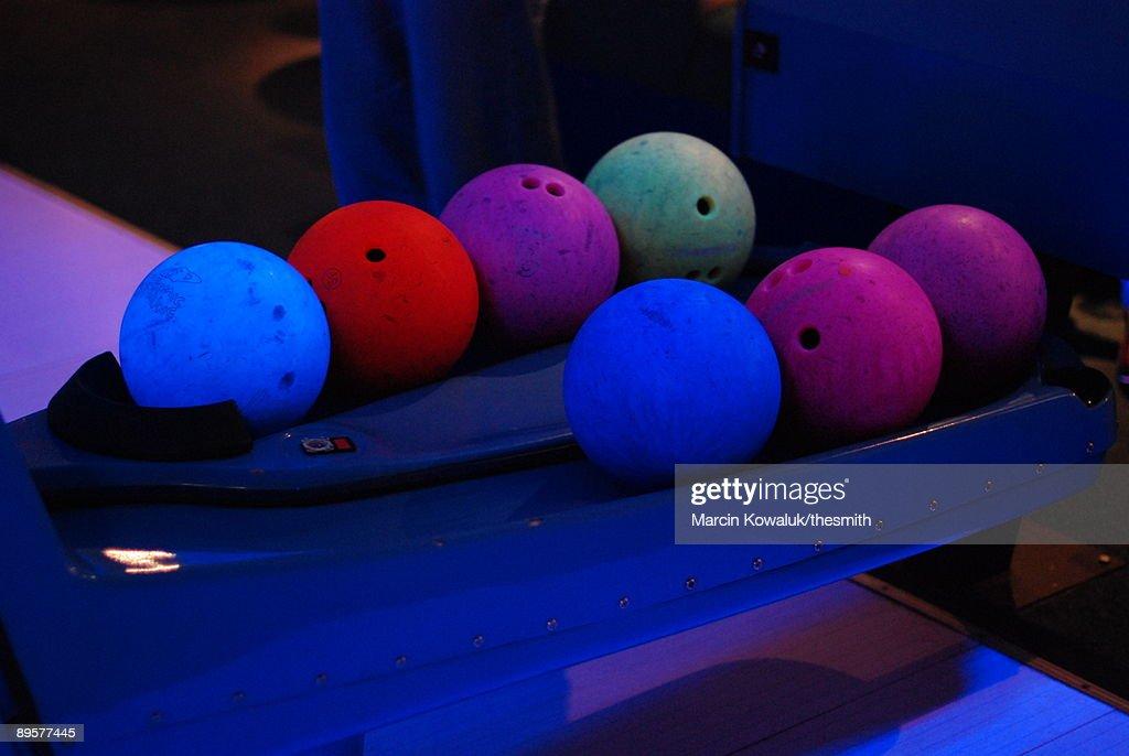 Bowling balls : Stock Photo