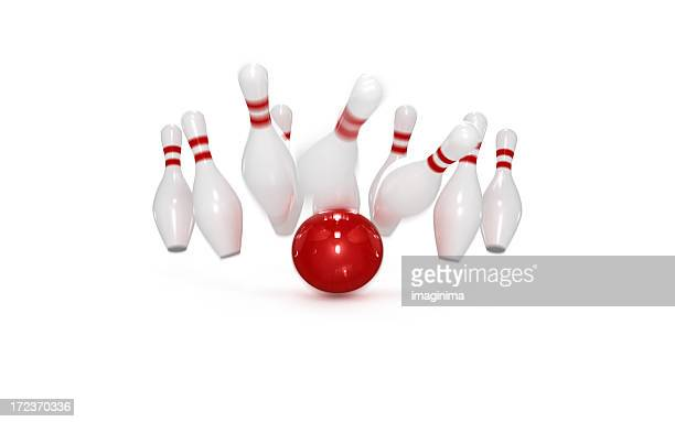Bowling-Konzept: Streik
