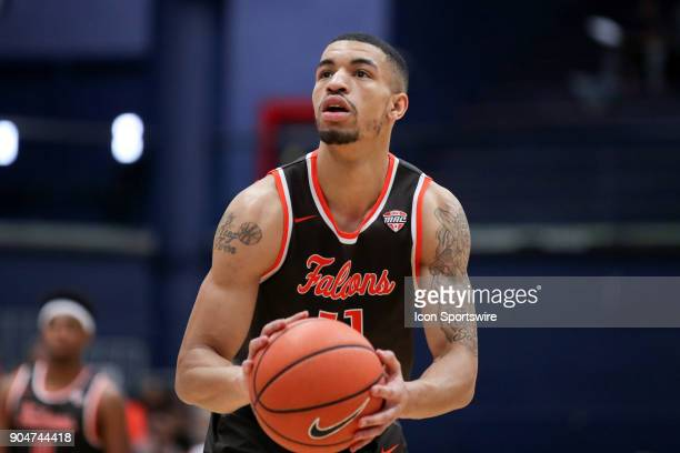Bowling Green Falcons guard Antwon Lillard at the foul line during the first half of the men's college basketball game between the Bowling Green...