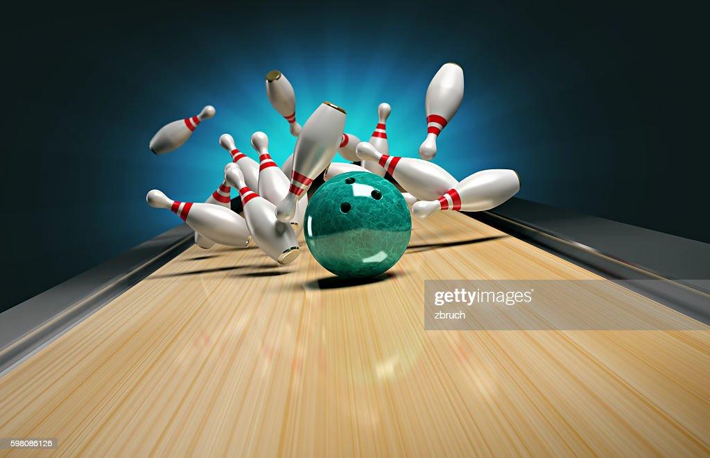 Bowling. : Stock Photo