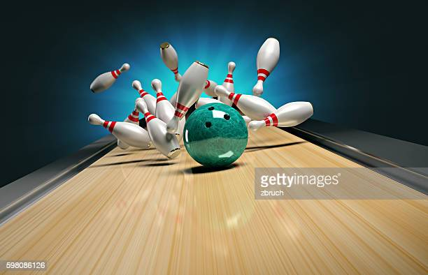 bowling. - bowling stock pictures, royalty-free photos & images