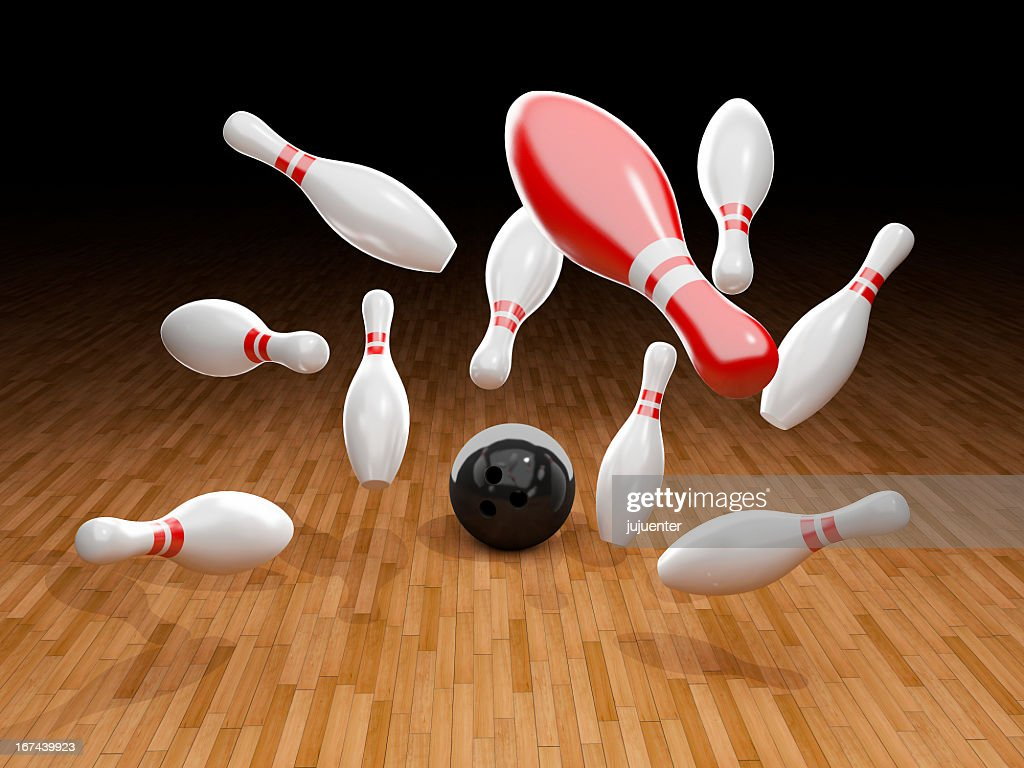 Bowling Pin : Stock Photo