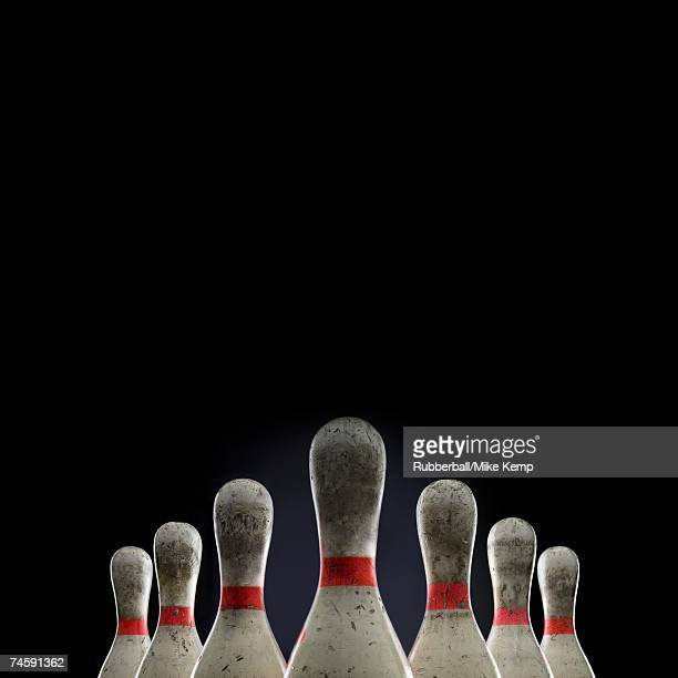 Bowling pins top half only