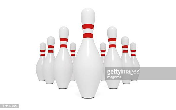 Bowling Pins XXL (Isolated)