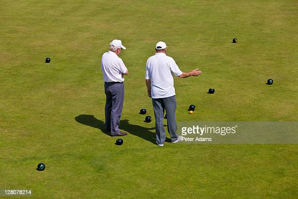 bowls, devon, england, uk - peter adams stock pictures, royalty-free photos & images