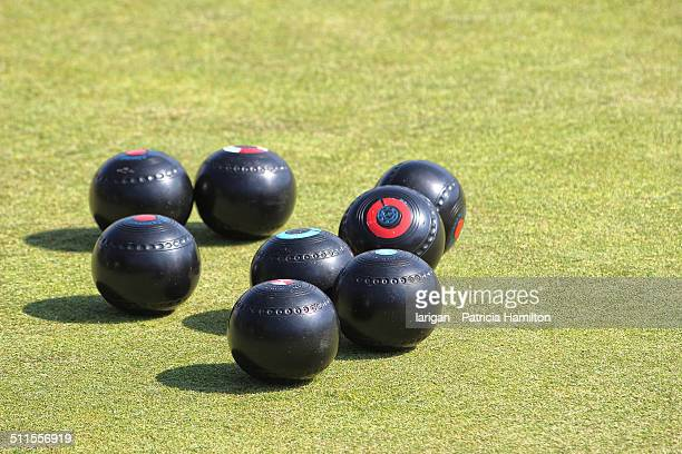 Bowls woods ready for play