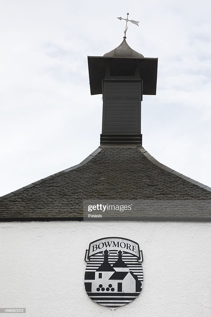 Bowmore Distillery : Stock Photo