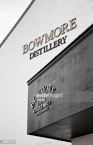 bowmore distillery - theasis stock pictures, royalty-free photos & images