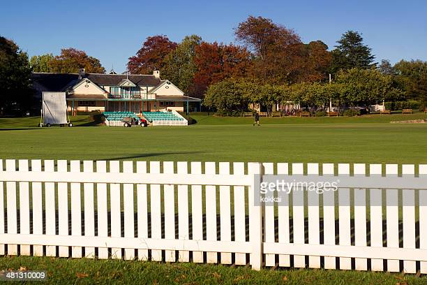 bowral - bradman oval - cricket pitch stock pictures, royalty-free photos & images