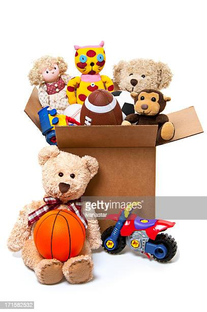 Box Full of Toys, Donations