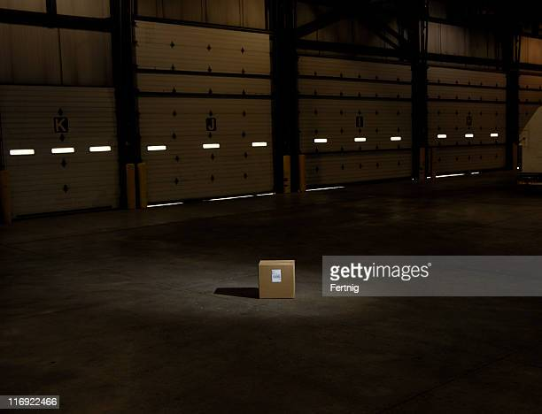 box in spot light - lost stock pictures, royalty-free photos & images