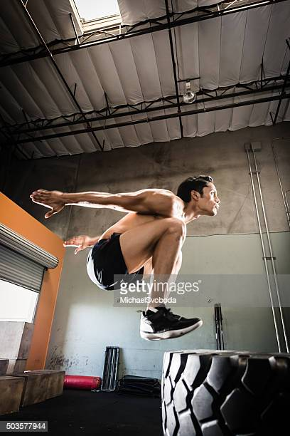 Box jump da grandi pneumatici
