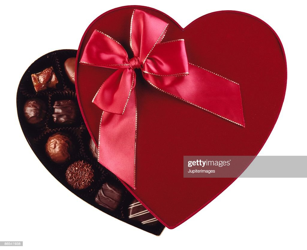 Box of chocolates : Stock Photo