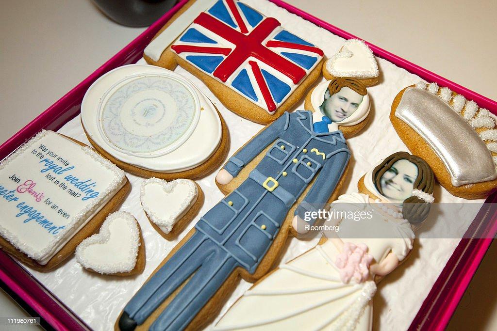 Royal Wedding Confectionary : News Photo