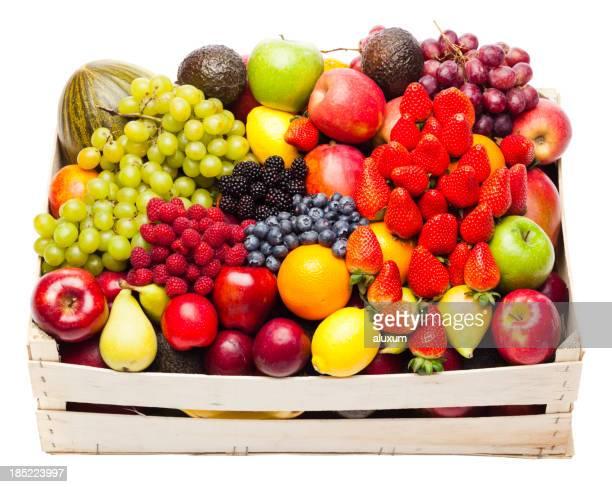 Schachtel mit Obst