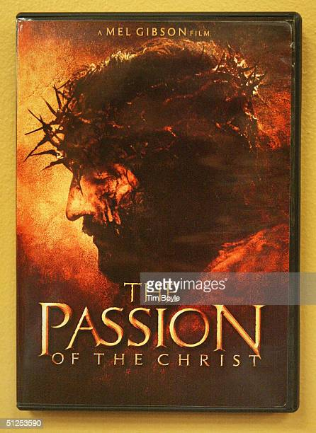 DVD box of Mel Gibson's movie 'The Passion of the Christ' is seen in a movie rental store September 1 2004 in Niles Illinois The Passion of the...