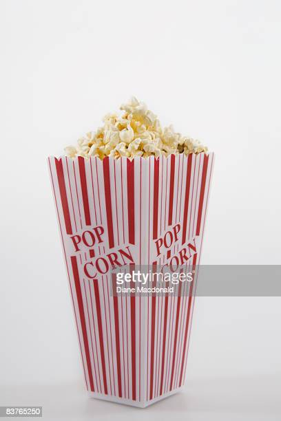 A box of popcorn