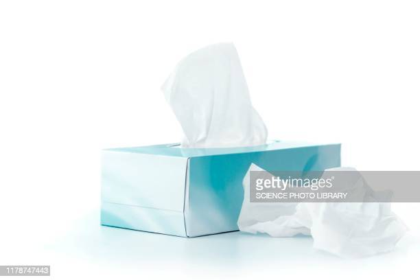 box of tissues - handkerchief stock pictures, royalty-free photos & images