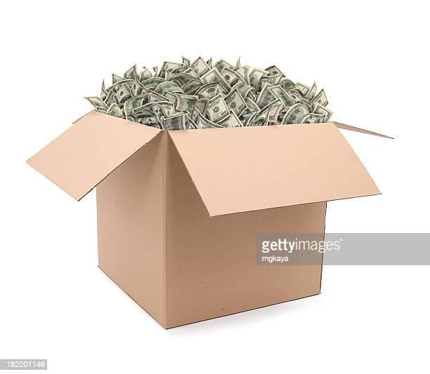 Box voller Geld