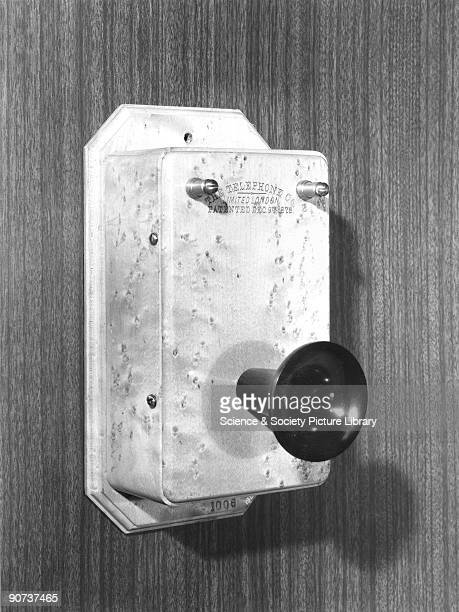 Box telephone made by The Telephone Company Ltd London of a design patented on 9 December 1878 After experimenting with various acoustical devices...