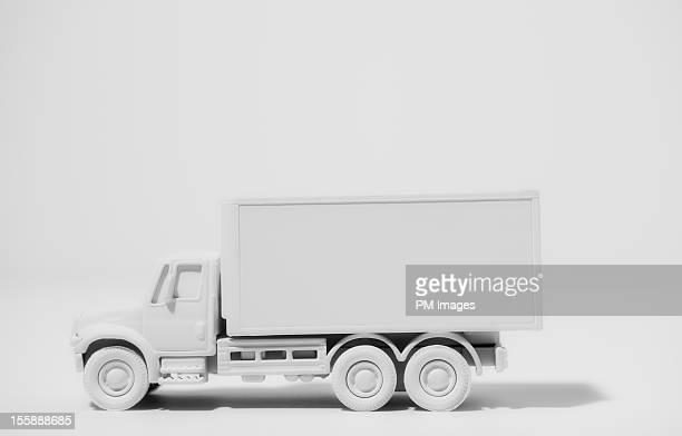 Box truck painted white