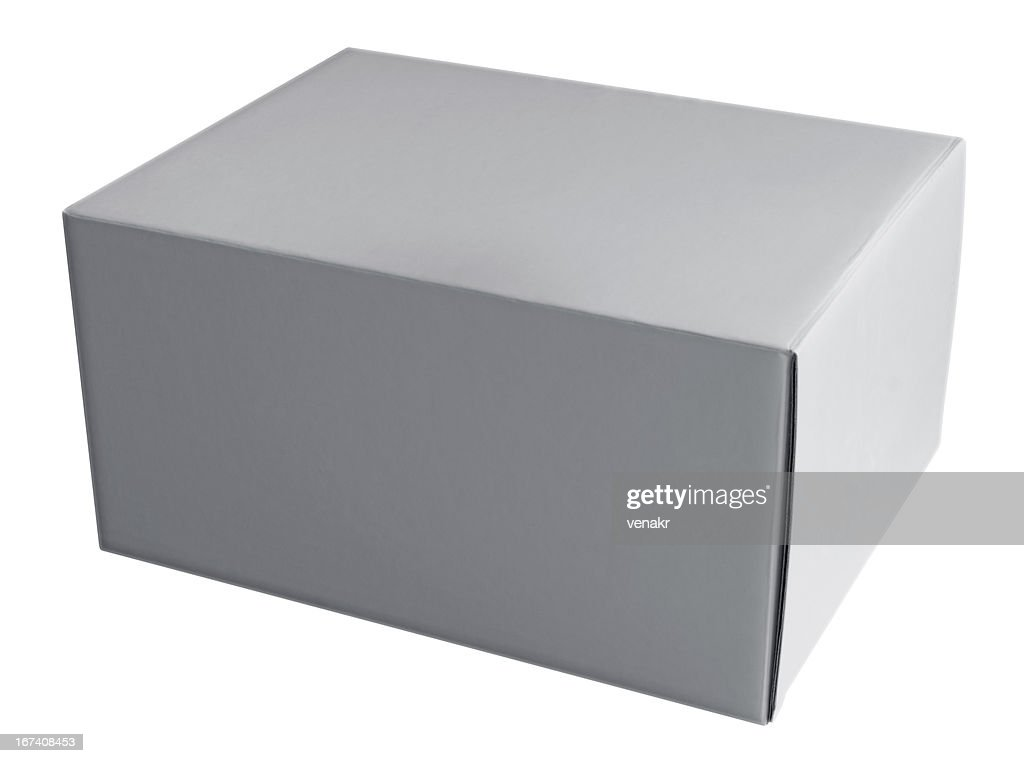 Box white : Stock Photo