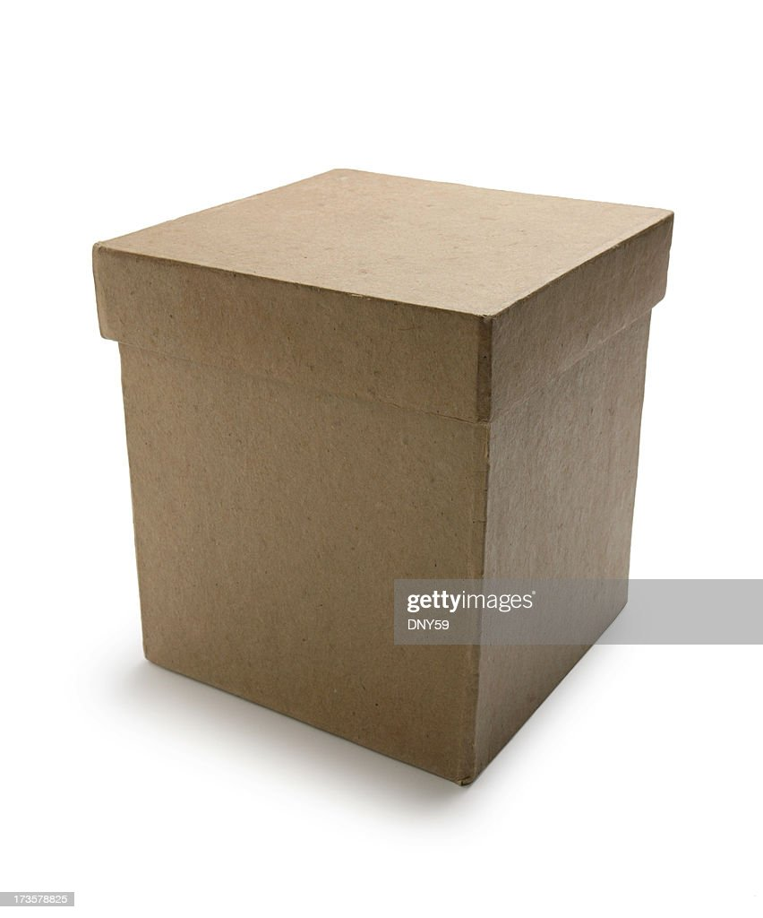 Box With Lid : Stock Photo