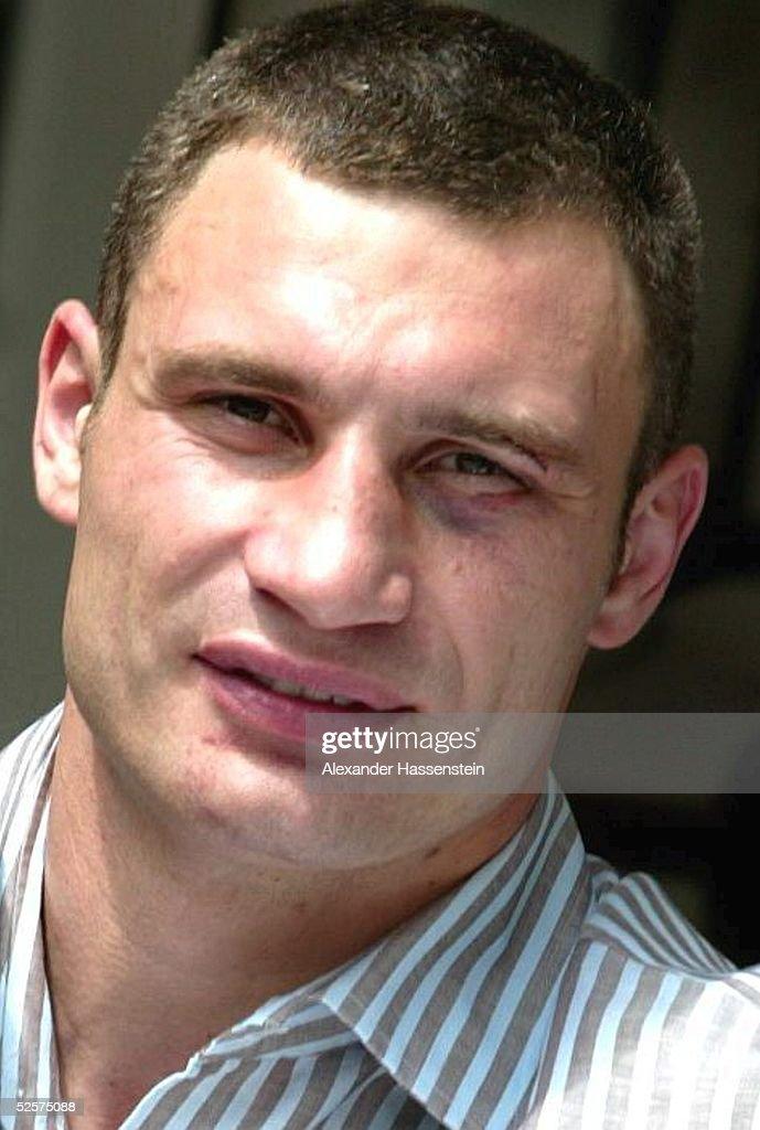 Boxen: WBC WM Kampf im Schwergewicht 2004 : News Photo