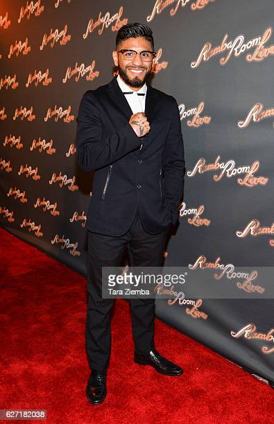 Boxer Abner Mares attends the grand opening at Rumba Room Live on December 1 2016 in Anaheim California